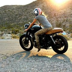 Triumph Girl #USA