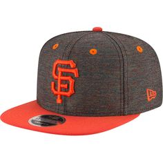 San Francisco Giants New Era Vivid Crowner Snapback Hat - Black 7503195699c4