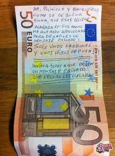 Humor Gráfico Humor grafico venezolano: Mensaje para los banqueros