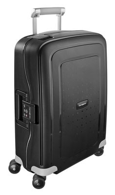 S'Cure Black 69cm #Samsonite #SCure #Travel #Suitcase #Luggage #Strong #Lightweight #MySamsonite #ByYourSide