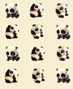 Pattern by Rebeca Lisiê (@dawtish). Visit my profile! ♥ #pattern #panda #cute #wallpaper #fofo #animals #animal #meninas #pandas #papeldeparede