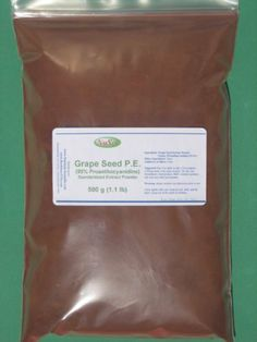Grape Seed Extract Powder 500g (1.1 lb), Standardized 95% Proanthocyanidins, Bulk Provided by HerbStoreUSA by NuSci. $37.95. Grape seed extract is a natural plant constituent (ployphenols, including flavanols proanthocyanidin, also know as OPC) which strengthens and protects living tissue. It strengthen blood vessels, improves skin, and aids in circulation. Proanthocyanidins have been sold as nutritional and therapeutic supplements in Europe. It is the principal vas...