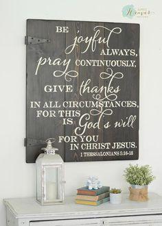 Be Joyful Sign {ready-to-ship}
