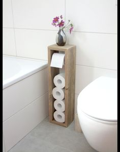 Toilettenpapierhalter, Klopapierhalter – Klopapierhalter – Badezimmer – Mit Lieb… Toilet Paper Holder, Toilet Paper Holder – Toilet Paper Holder – Bathroom – Handmade with Love in Hatten, Germany by Klaus Heilmann Toilet Paper Stand, Diy Toilet Paper Holder, Toilet Paper Storage, Toilet Brush, Toilet Roll Holder Wood, Toilet Paper Dispenser, Diy Casa, Diy Home Decor On A Budget, Home Decor Ideas