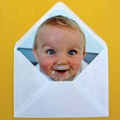 Personalised envelope liners