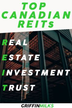 The Top Canadian Real Estate Investment Trusts (REITs) in 2020 for passive income and long-term share price growth! REITs to add to your portfolio today! Make Money Blogging, Money Saving Tips, Earn Money, How To Make Money, Investing Apps, Real Estate Investing, Dividend Stocks, Investment Portfolio, Money Management