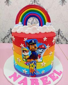 2nd Birthday Cake Boy, Spiderman Birthday Cake, Paw Patrol Birthday Cake, Paw Patrol Party, Torta Paw Patrol, Paw Patrol Cake Toppers, Creative Birthday Cakes, Buttercream Decorating, Baby Boy Cakes