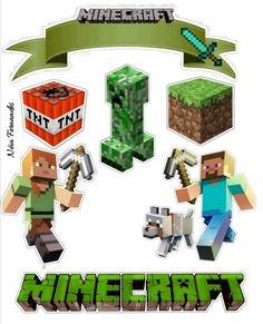 Minecraft # - # for # Geeks, Minecraft Torte, Pastel Minecraft, Minecraft Cake Toppers, Minecraft Party Decorations, Minecraft Birthday Cake, Cool Minecraft Houses, Hama Beads Minecraft, Minecraft Pixel Art, Minecraft Crafts