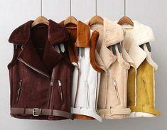 Что можно сделать из старой дубленки? Refashion, Leather Jacket, Sewing, Coat, Womens Fashion, Handmade, Winter, Clothes, Jackets