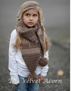This is a listing for The PATTERN ONLY for The Tasselyn Scarf  This scarf is handcrafted and designed with comfort and warmth in mind... Perfect