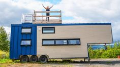 This Big Modern Tiny House is Pure Luxury!