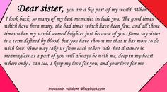 valentine quotes sister