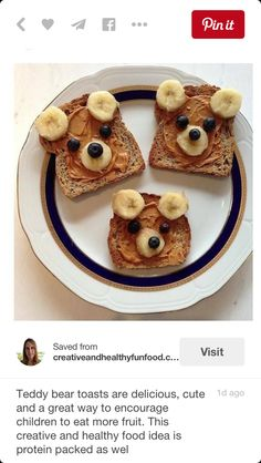 about these super cute and HEALTHY toddler snacks? - How about these super cute and HEALTHY toddler snacks? These are some of our fa … – -How about these super cute and HEALTHY toddler snacks? Healthy Toddler Snacks, Eat Healthy, Happy Healthy, Healthy Kid Food, Healthy Recipes, Breakfast For Children, Kids Birthday Breakfast, Healthy Snacks For Kids On The Go, Toddler Breakfast Ideas