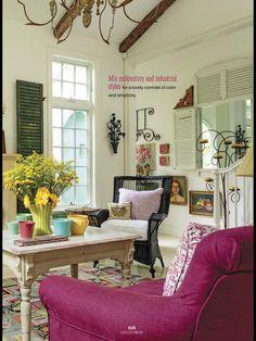 Flea Market Style Decorating magazine | ideas | Pinterest | Flea ...
