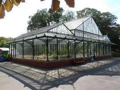 A big greenhouse for veggies all year! Imagine this thing outfitted with translucent photovoltaics. IDK maybe? Greenhouse Frame, Small Greenhouse, Greenhouse Gardening, Greenhouse Ideas, Landscape Architecture, Landscape Design, Garden Design, Garden Center Displays, Porches