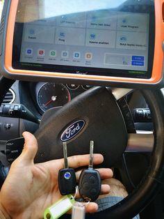 Ford Focus 2008 all keys lost Key Programming Successful with #xhorse vvdi key tool plus pad Ford Focus 2008, Obd Tools, Automotive Solutions, Key Programmer, Lost Keys, Smart Key, All In One, Programming, Car