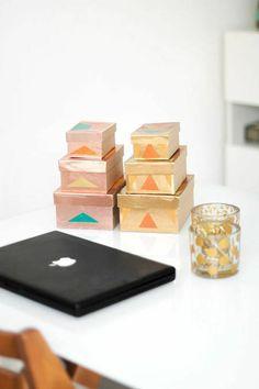 Metallic Storage Boxes