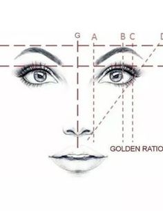 Golden Mean CALIPERS Eyebrow Microblading Permanent Makeup Ratio Measurement Tool Fibonacci Gauge Symmetrical Tattoo Ruler Face Drawing Reference, Drawing Tips, Sketch Drawing, Drawing Ideas, Symmetrical Tattoo, Face Proportions, Best Eyebrow Products, Microblading Eyebrows, Perfect Eyebrows