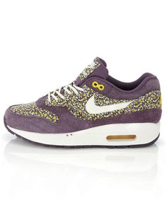 The Air Max 1 Purple Liberty Print Trainer. Need I say more. Earlier on this year Nike teamed up with Liberty's to create this revolutionary trainer. Not shying away from the original Air Max design, Nike and Liberty created the perfect pair of Air Max for those who simply viewed them as 'too chunky' in the past, not to mention the remixed design using the classic Liberty of London Pepper Fabric Print.