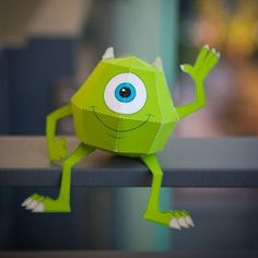Great Monster's Inc. 3D Papercrafts on Spoonful.com to use for decorations!