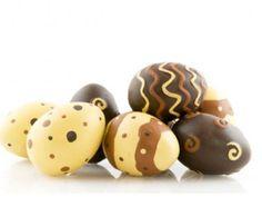 Huevos de Chocolate para Pascua