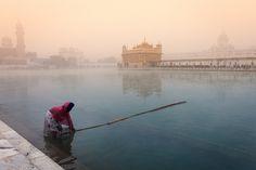Misty morning, Amritsar