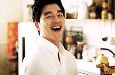 Gong Yoo, you adorable creature, you! <3 #gif that laugh!! keke <3
