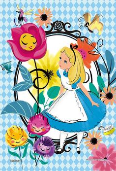 Alice in Wonderland:)