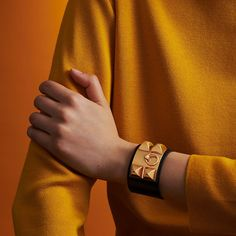 Hermes Collier de Chien bracelet. Bracelets, Bangles, Studs, Jewelry, Photography Ideas, Kelly Bag, Leather Jewelry, Pendant, Bangle Bracelet