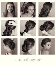 mimi & taylor: DIY- soft up do