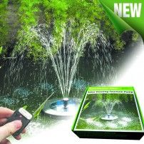 Floating Solar Fountain : SolarShower Float 200 Water Pond, Solar Water, Water Garden, Water Features In The Garden, Garden Features, Solar Installation, Sight & Sound, Easy Install, Solar Energy