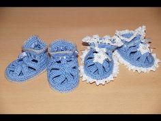 Вязание пинеток крючком  - шаг 3.   Crochet knitting bootees - Step 3