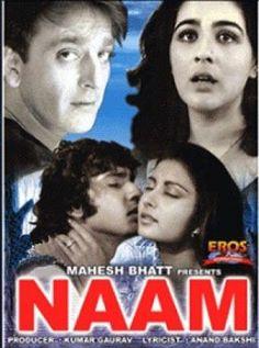 Naam Hindi Movie Online - Nutan, Kumar Gaurav, Sanjay Dutt, Poonam Dhillon, Amrita Singh, Ashutosh Gowariker and Kamal Chopra. Directed by Mahesh Bhatt. Music by Laxmikant Pyarelal. 1986 ENGLISH SUBTITLE