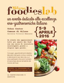 Milano Foodies Lab 2016
