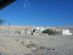 Housing in village near dead sea