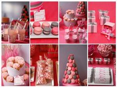Festa tema coração para menininhas!