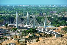 Bridge connecting Benguela and Lobito