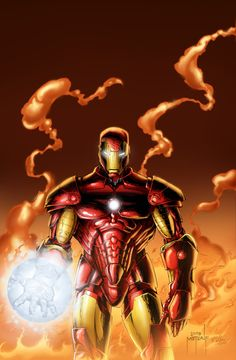 Iron Man by Jason Mecalf, colours by ~rkw0021