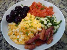 Eu que fiz!: Café da manhã multicolorido - #paleo  #lowcarb  #comidasaudavel  #lchf  #euquefiz