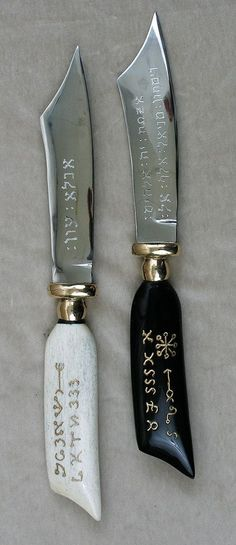 Key of Solomon Black and White Knife - Google Search