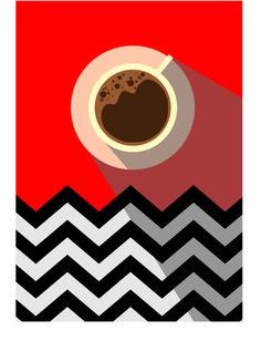 Картинки по запросу twin peaks poster