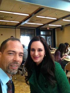 Lovely Madeline Stowe, Darren the Chef.