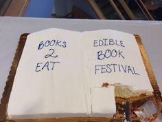 Books2Eat Edible Book Festival cake