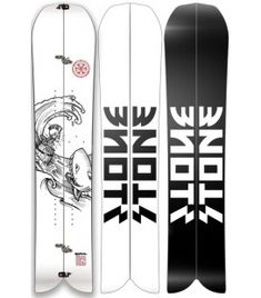 BARREL SPLIT - STONE SNOWBOARDS