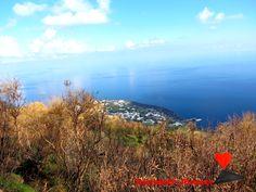 #Landscape of #Stromboli.