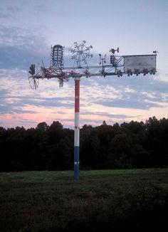The Whirligig at sunset  ©NCMA
