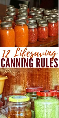 DIY Food Preservation Tips and Recipes : 12 Lifesaving Canning Rules Canning low acid food is the only preservation met Home Canning Recipes, Canning Tips, Cooking Recipes, Cooking Ideas, Canning Food Preservation, Preserving Food, Antipasto, Low Acid Recipes, Canning Vegetables