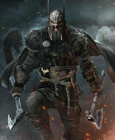 Art Viking, Viking Life, Fantasy Armor, Dark Fantasy Art, Medieval Fantasy, Fantasy Character Design, Character Art, Viking Warrior Tattoos, Viking Warrior Men