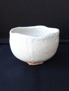 White Chawan (tea bowl), by Masami Miyajima, Mashiko - Japan de la boutique NOEMASA sur Etsy