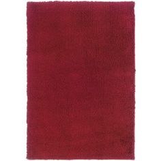@Overstock - This solid red area rug provides a block of bright color that will attract the eye in any room. Made from hardwearing and durable polypropylene, this rug is also a treat for your feet, as it features extra-long pile for comfort and softness. http://www.overstock.com/Home-Garden/Manhattan-Red-Area-Rug-710-x-112/6233495/product.html?CID=214117 $341.09